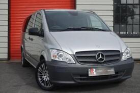 2014 14 MERCEDES-BENZ VITO 2.1 116 CDI TRAVELINER 5D AUTO 163 BHP DIESEL