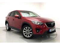 2015 Mazda CX-5 2.2d [175] Sport Nav 5dr AWD Auto Diesel red Automatic