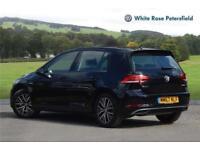 2018 Volkswagen Golf SE 1.5 TSI 130PS EVO 6-speed Manual 5 Door Petrol black Man