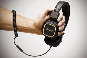 Marshall Major II Black Headphone
