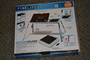LAPTOP HOLDER - with Cooling Advanced System - $15 firm Windsor Region Ontario image 1
