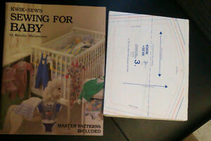 Kwik Sew Sewing for Baby book (new) Impulse buy