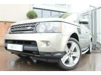 2013 13 LAND ROVER RANGE ROVER SPORT 3.0 SDV6 HSE BLACK 5D AUTO-2 OWNERS-HEATED