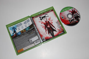MICROSOFT XBOX ONE-DEVIL MAY CRY DEFINITIVE HD-JEU/GAME (C005)