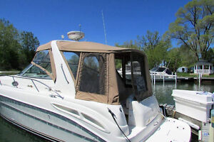 1999-34ft Searay Sundancer full camper cover London Ontario image 1