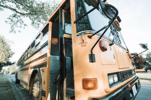 2001 Bluebird School Bus Conversion