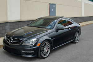 2013 C63 AMG Coupe P31 Performance Pack