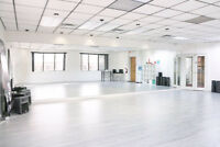 Brand new Dance Studio space located in Mississauga is available