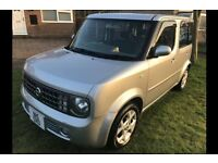 Nissan cube with private plate