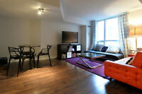 At 590 sq. ft. one of the largest Bachelor in the downtown core