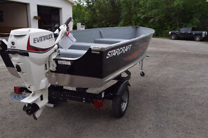 WHY BUY USED?  STARCRAFT SEAFARER 14 ANGLERS PACKAGE!!