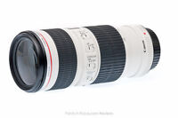 Canon 70-200mm F/4 L IS Image Stabilized Lens