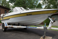 16' Bowrider with 70 HP Mercury and EZLoader Trailer