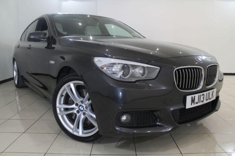 2013 13 BMW 5 SERIES 2.0 520D M SPORT GRAN TURISMO 5DR AUTOMATIC 181 BHP DIESEL