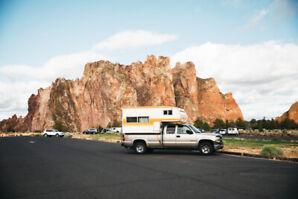 2001 Chevrolet Silverado Truck Camper