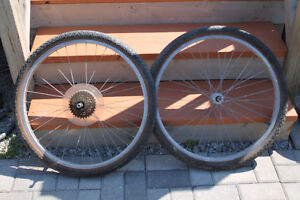 """26"""" rim includes tire and tube"""