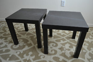 EXCELLENT End tables, coffee table and multi-use tables
