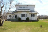 Executive Style Home on 35 Acres- 1.5 miles N. of Gimli
