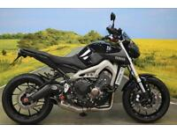 Yamaha MT-09 **AKRO' EXHAUST, ONE OWNER, GILIES REARSETS & RISERS **
