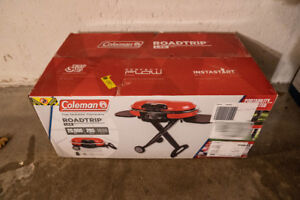 Coleman Road Trip Propane Portable Grill LXE Red
