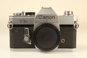 Canon TL QL 35mm Film FD Lens Mount SLR Camera Body Only