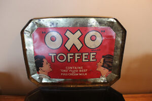Old Large OXO Toffee Tin - Rare London Ontario image 9