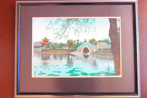 Lovely framed picture for sale
