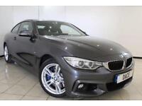 2014 14 BMW 4 SERIES 3.0 435D XDRIVE M SPORT 2DR AUTOMATIC 309 BHP DIESEL