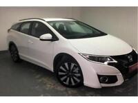 2017 Honda Civic 1.8 i-VTEC SE Plus Petrol white Automatic