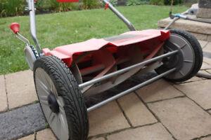 Used Troy-Bilt Revolution Silent Reel Lawn Mower, 18-in