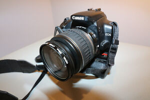Canon EOS Rebel XTI AND EFS 18-55mm Lens plus Charger