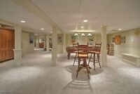Basements - Customer satisfaction is what determines our success