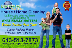 OTTAWAS BEST HOME CLEANING 10 YEARS IN A ROW!! GREAT PRICES!!
