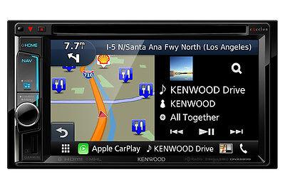 "Kenwood eXcelon DNX693S 6.2"" DVD Navigation w/ Apple CarPlay & HDMI /MHL"