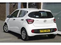 2017 Hyundai i10 1.0 S Petrol white Manual