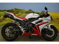 Yamaha YZF R1 2007**R&G FRAME PROTECTORS, BRAIDED LINES, AFTERMARKET EXHAUST**