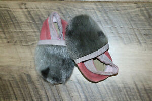 Seal Skin baby slippers