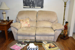 Rocking / Recliner Love Seat and Matching Recliner