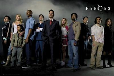 Heroes : Cast - Maxi Poster 91.5cm x 61cm new and sealed