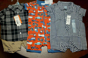 NWT boys clothing 3-6 months