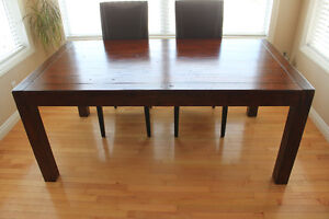 Urban Barn Post and Rail Dining Table - Excellent Condition!!