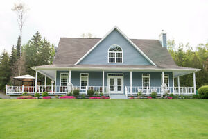 Beautiful Waterfront Home Near Grand Falls, New Brunswick
