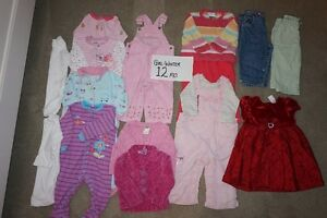 Girls winter clearout 12 mo.+ 18 mo. 34 items for $35