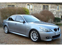 BMW 530 3.0TD auto 2005MY d Sport, 128K MILES, FULL S/HISTORY, 2 OWNERS,