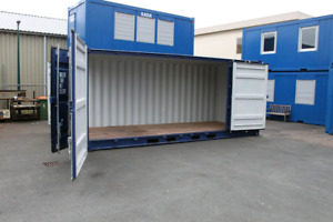 Wanted/Looking 20ft, open side doors, shipping container, SeaCan