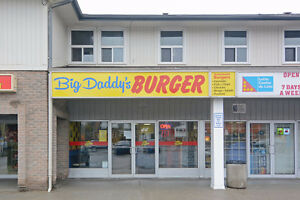 Well Established Burger Restaurant In A Busy Plaza