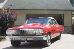 1962 Chev Impala Cov, 4 spd, BB, Posi