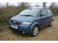AUDI A2 1.4 SE done just 79460 Miles with SERVICE HISTORY and NEW MOT