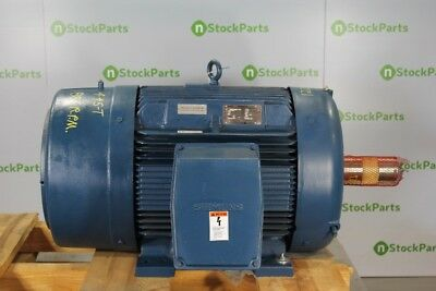 100HP 900RPM - SIEMENS 3000220051-10 NSNB - 100 HP ELECTRIC MOTOR 885 RPM 445T T