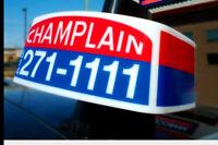Taxi champlain single a louer